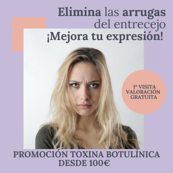 promocion toxina botulinica rejuvenecimiento facial barcelona